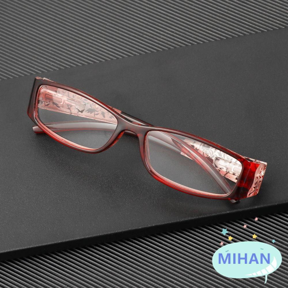 MIHAN1 Ultralight Anti Blue Light Reading Glasses Radiation Protection Computer Goggles Presbyopic Eyewear Vision Care Men Women Fashion Anti-blue Rays...