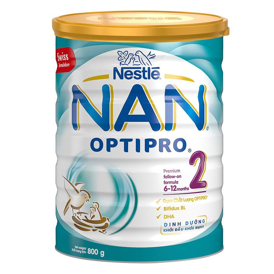 Sữa Bột Nestle NAN Optipro 2 (800g) - 3367417 , 1087306388 , 322_1087306388 , 357500 , Sua-Bot-Nestle-NAN-Optipro-2-800g-322_1087306388 , shopee.vn , Sữa Bột Nestle NAN Optipro 2 (800g)