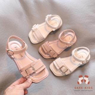 Dép Sandal Cho Bé Gái – Dép quai hậu mũi vuông có quai dán phong cách Hàn Quốc mẫu mới nhất cho bé từ 3-7 tuổi M916