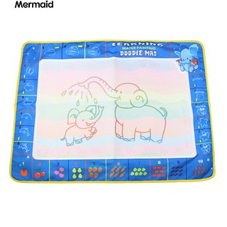 💖Baby Kids Water Drawing Painting Mat Board Play Rug Magic Pen Doodle Toy