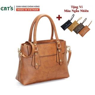 Túi xách nữ thời trang CNT TX38 cao cấp (Tặng kèm ví)