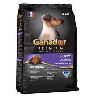 Ganador puppy 1.5kg-Thức ăn cho chó con vị sữa bổ sung DHA giúp thông minh