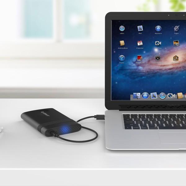 "Hộp ổ cứng 2.5"" SSD/HDD SATA 3 USB 3.0 ORICO 2538C3 - 2538U3"