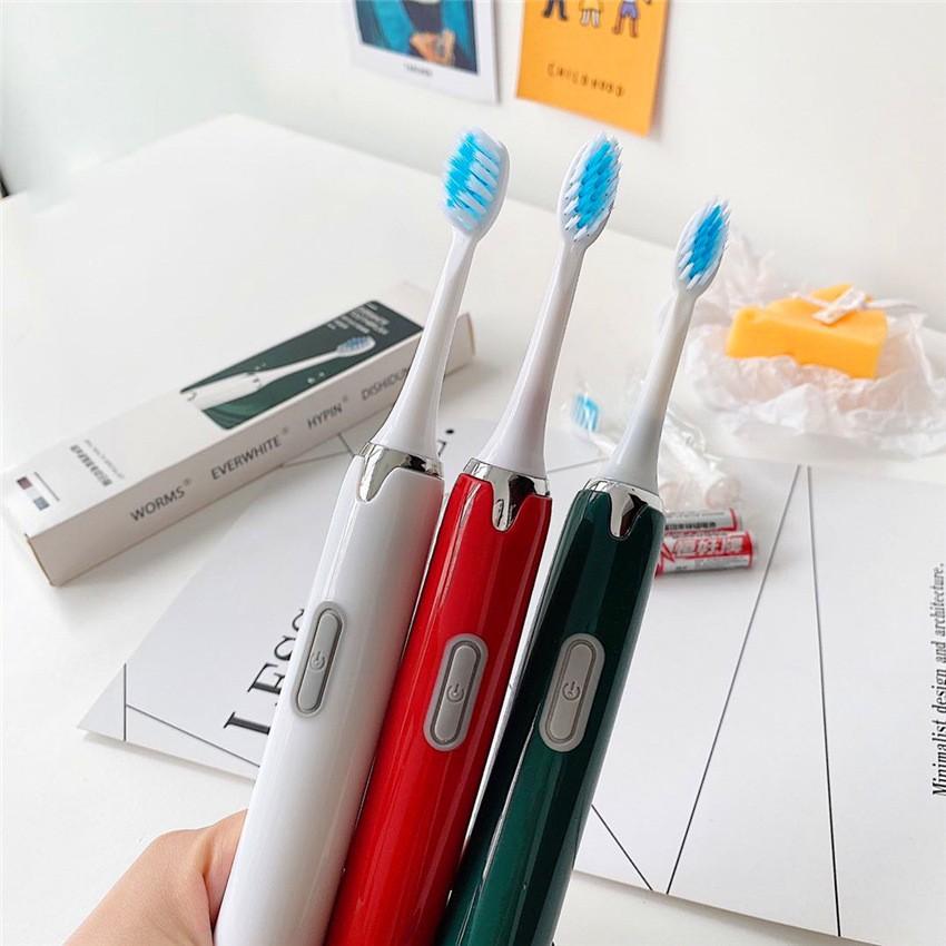 Bàn chải điện EverWhite - Bàn chải tự động Chăm sóc răng vượt trội - Bàn chải cho bé tặng kèm 1 đầu thay thế