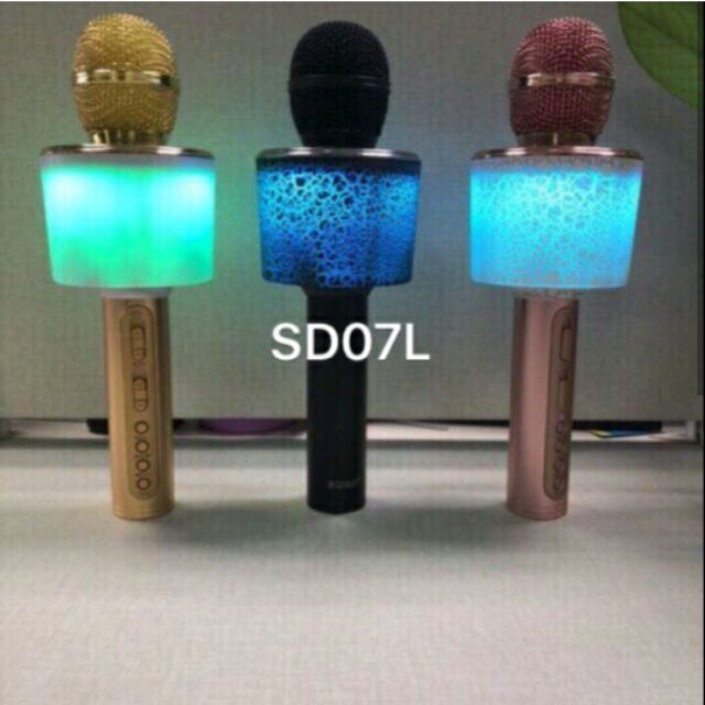 Mix hát karaoke kiêm loa SD07L