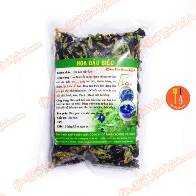 Hoa đậu biếc khô 50g / tạo màu bánh, pha trà,..