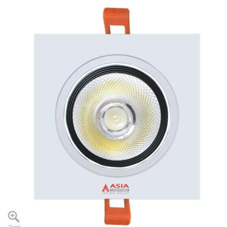 Đèn LED âm trần vuông COB 10W ASIA