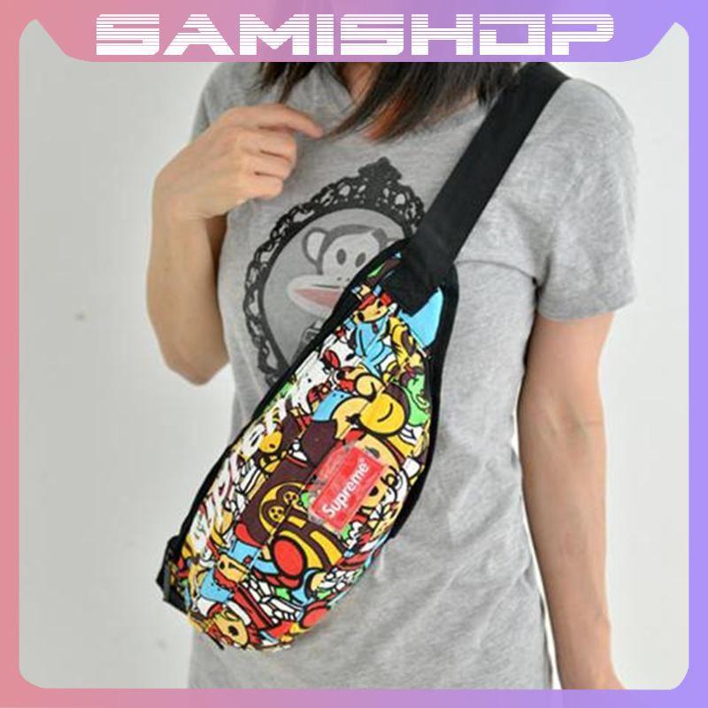 Túi đeo chéo nam nữ bao tử đựng điện thoại và đi du lịch phong cách Hàn Quốc TD0052