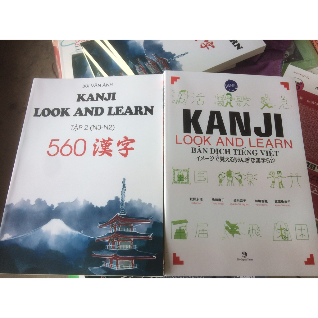 sách combo KANJI LOOK AND LEARN - 3522383 , 1037717491 , 322_1037717491 , 200000 , sach-combo-KANJI-LOOK-AND-LEARN-322_1037717491 , shopee.vn , sách combo KANJI LOOK AND LEARN