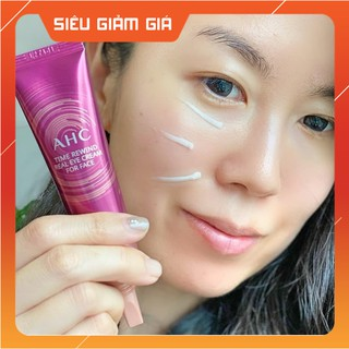 Kem dưỡng mắt AHC Time Rewind Real Eye Cream For Face [2020] - 30ML - Xóa Tan Quầng Thâm Mắt - Mọng Mắt thumbnail