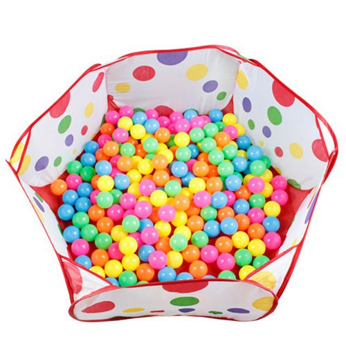 Sỉ. lẻ Lều bóng tự bung tặng kèm 100 bóng to _ hàng nhập khẩu