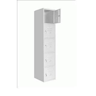 Tủ Sắt Sơn Tĩnh Điện 5 Khoang – Tủ Locker Đơn 5 Hộc