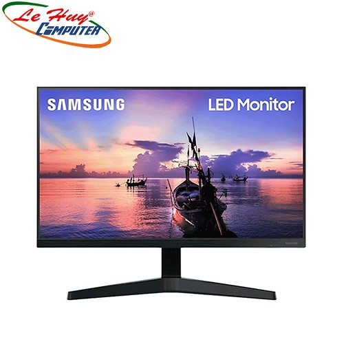 [Mã ELMIDNIGHT giảm 7% đơn 2TR] Màn hình máy tính Samsung LF24T350FHEXXV 24inch FHD IPS 75Hz Freesync