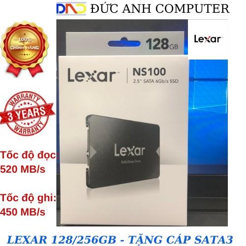Ổ cứng SSD 128GB/256GB Lexar NS100 2.5-Inch SATA III - Hàng Chính Hãng