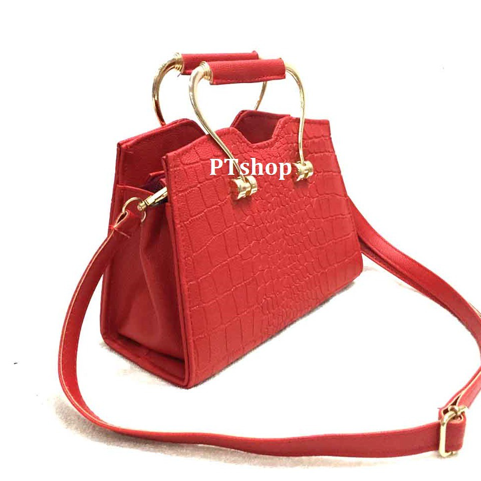 Combo 2 túi xách nữ PT17 + 2 ví cầm tay đinh tán hoathiennguyen 3