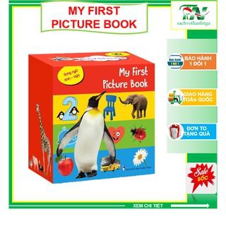 Set 10 cuốn - Thư viện hình ảnh đầu tiên My First Picture Book song ngữ Anh Việt (Tặng kèm file nghe tiếng Anh)