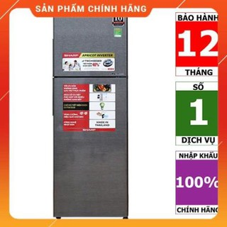 [BMART] SJ-X346E-SL | SJ-X346E-DS | Tủ lạnh Sharp Inverter 342 lít (Hàng chính hãng, bảo hành 12 tháng)