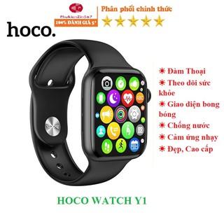 🌟Mẫu MỚI 2021 🌟 Smart Watch Đồng hồ thông minh Hoco Y1 kết nối Bluetooth hỗ trợ nghe gọi, theo dõi sức khỏe, thể thao…