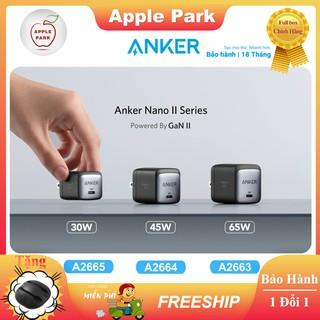 Củ Sạc Anker A2663 65W GaN,A2664 45W,A2665 30W,Cho MacBook Air MacBook Pro iPhone PD 20w 12 Pro X 11 8 Plus Samsung S20 thumbnail