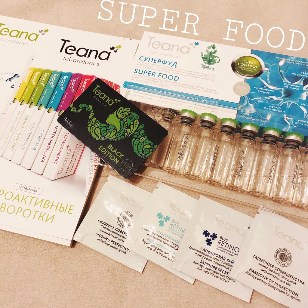 Serum Teana SUPER FOOD làm CĂNG BÓNG và HỒNG da, se khít lỗ chân lông, tái tạo da với tổ hợp Vitamin - 3598555 , 987997996 , 322_987997996 , 180000 , Serum-Teana-SUPER-FOOD-lam-CANG-BONG-va-HONG-da-se-khit-lo-chan-long-tai-tao-da-voi-to-hop-Vitamin-322_987997996 , shopee.vn , Serum Teana SUPER FOOD làm CĂNG BÓNG và HỒNG da, se khít lỗ chân lông, tái t