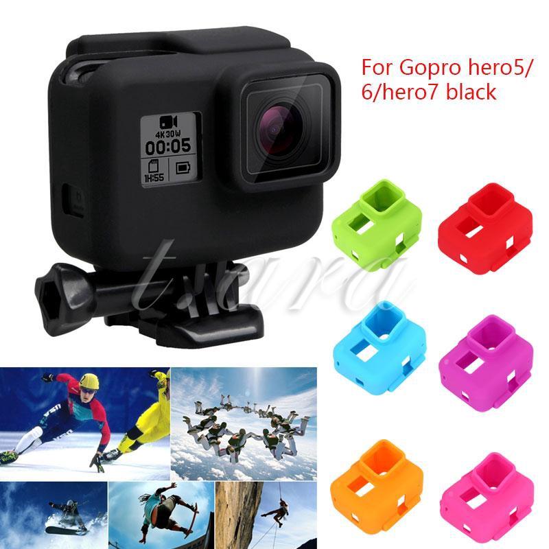 Ốp lưng cao su cho máy quay hành trình GoPro Hero 5 6 7