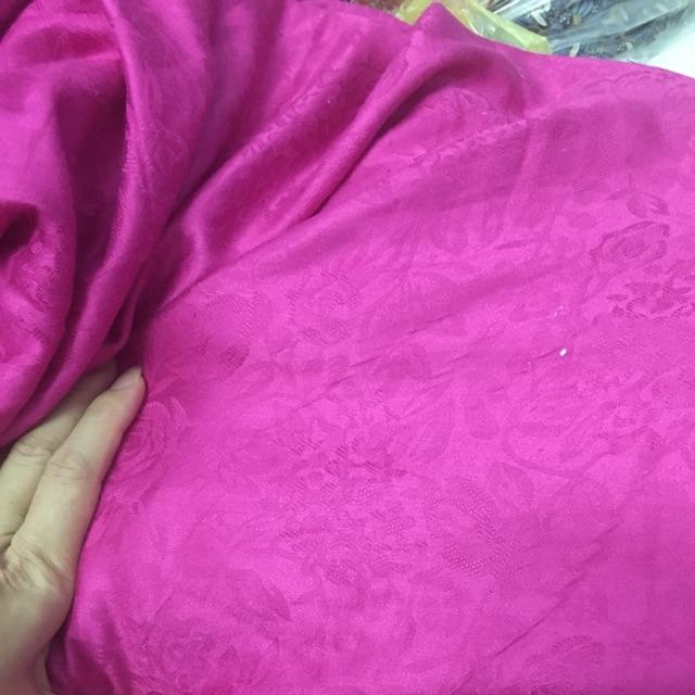 Vải lanh tơ tằm