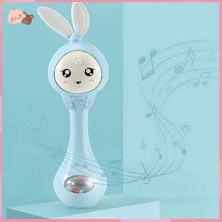 【promotion】Baby teether rattle toy Meng rabbit teeth stick