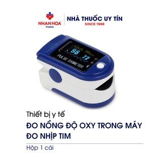 Máy đo nồng độ oxy máu SpO2 FINGERTIP PULSE OXIMETER hộp 1 cái thumbnail