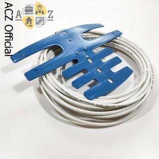 [Mã ELORDER5 giảm 10k đơn 20k] Anten Tivi bọc nhựa xanh kèm dây - thu sóng tốt