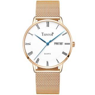 [Mã FARSBR153 giảm 15% đơn 150K] Đồng hồ nam chính hãng Teintop T7016-10