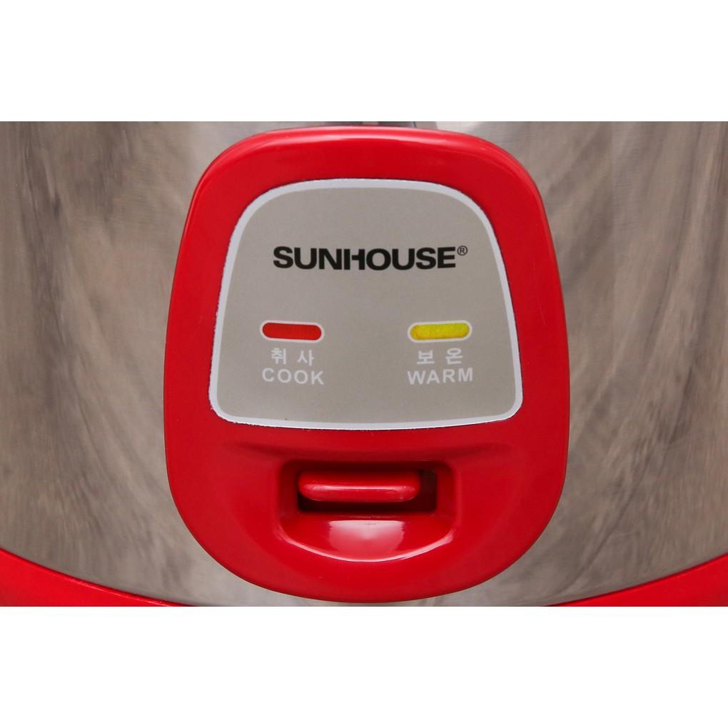[Mã 267ELSALE hoàn 7% đơn 300K] Nồi Cơm Điện Sunhouse 1.8 lít SHD 18S