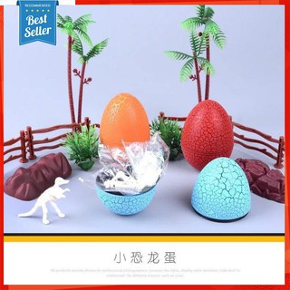 Hộp 12 Trứng Khủng Long Lắp Ghép Tự Đứng Thăng Bằng [ẢNH THẬT]