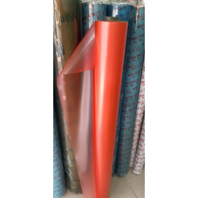 Nhựa PVC nhám màu mờ dẻo khổ 1m37