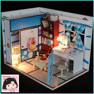 """Mô Hình Nhà Gỗ DIY """"Nhà Doraemon Stand By Me"""""""