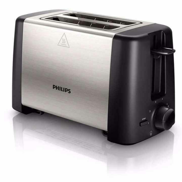 Philips เครื่องปิ้งขนมปัง HD4825 (สีเงิน/ดำ) มีจำนวนจำกัด