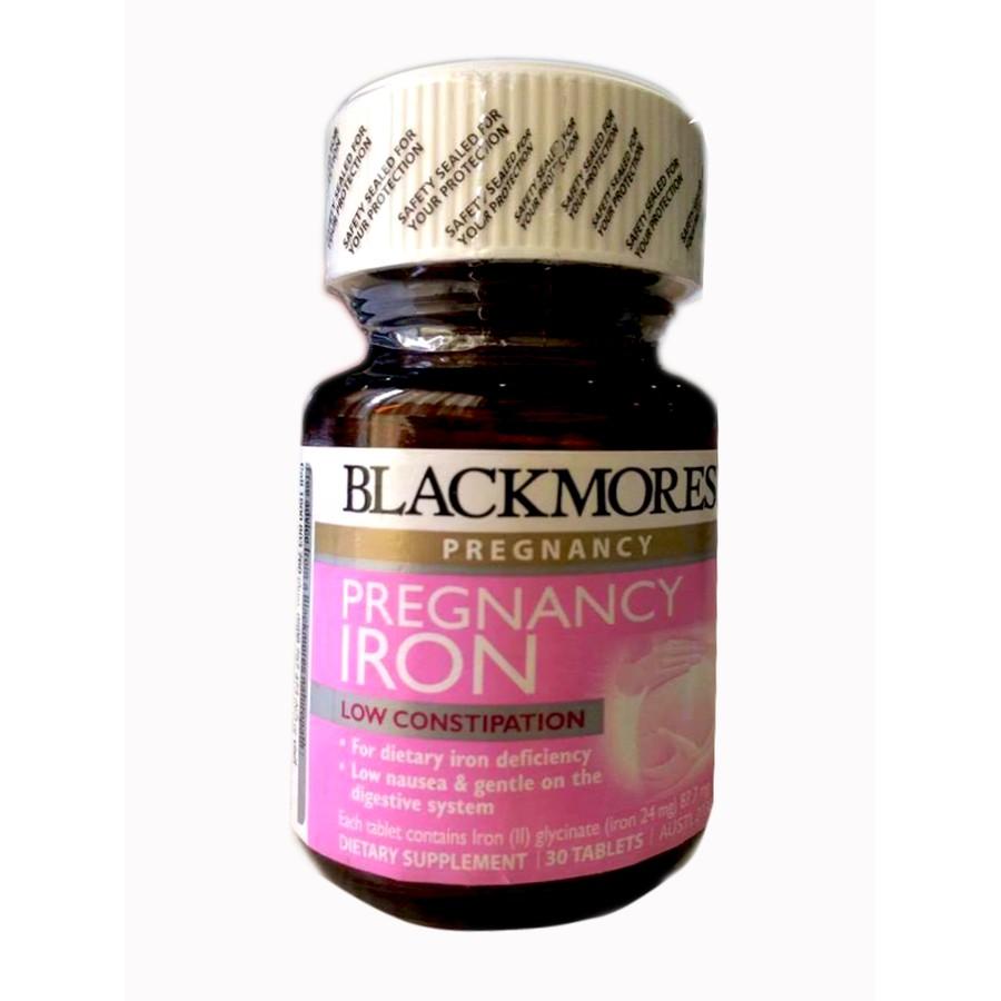 [Free ship 99k giao tại HN + HCM]Viên Sắt Cho Bà Bầu Blackmores Pregnancy Iron