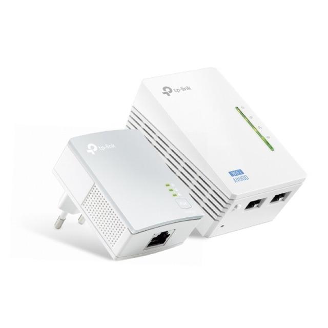 Bộ mở rộng Internet qua đường dây điện AV600 hỗ trợ Wi-Fi tốc độ 300Mbps