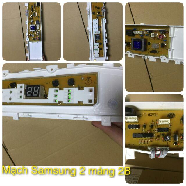 Mạch máy giặt Samsung 2 mảng 2B - 3358888 , 993432721 , 322_993432721 , 520000 , Mach-may-giat-Samsung-2-mang-2B-322_993432721 , shopee.vn , Mạch máy giặt Samsung 2 mảng 2B