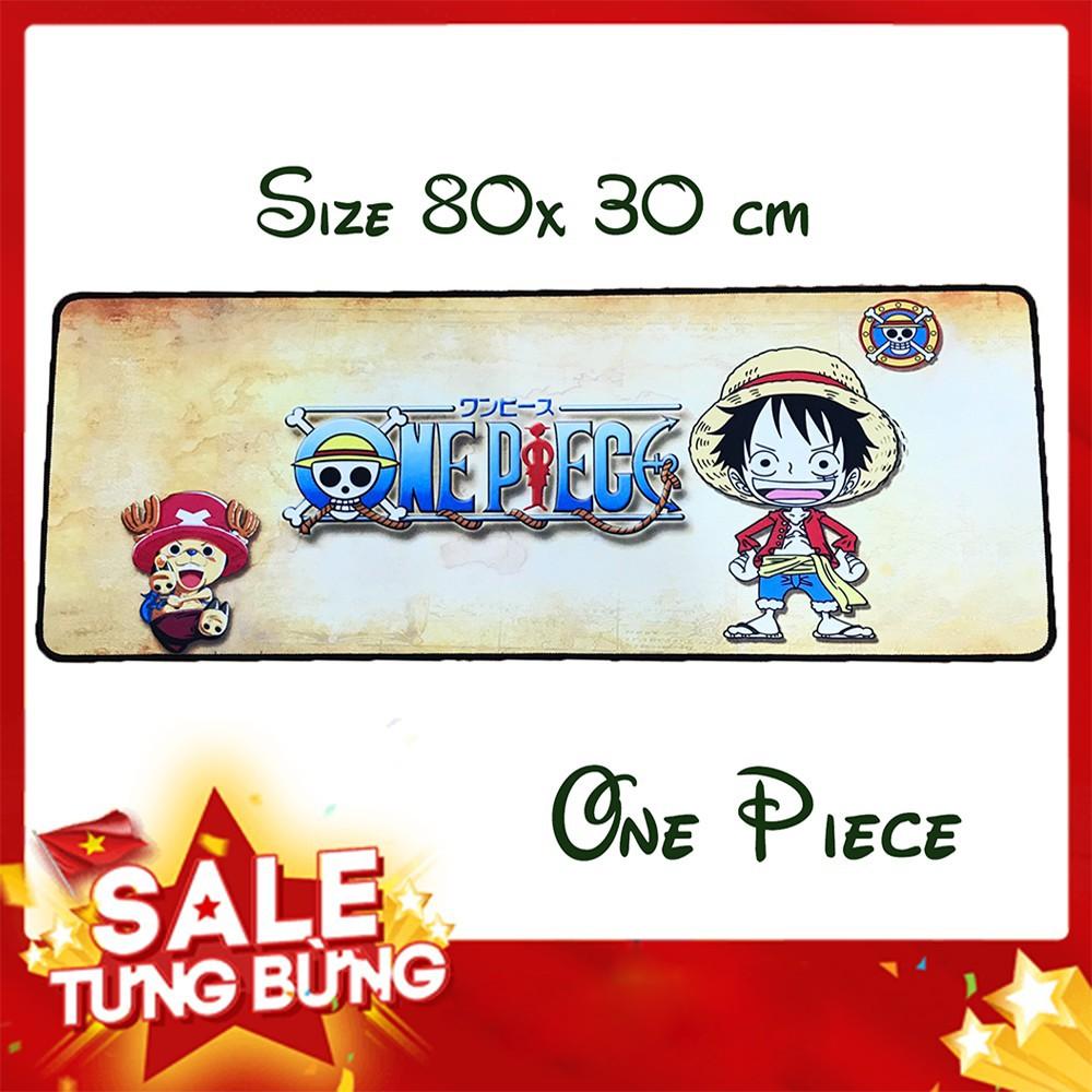 [9tek] [Freeship toàn quốc từ 50k] Combo 3 lót chuột 80 x 30 cm One Piece Cực Đẹp Giá Sốc