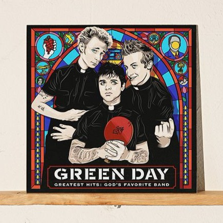 Green Day - Greatest Hits: God's Favorite Band (Vinyl LP)