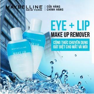 Nước Tẩy Trang Mắt và Môi Chuyên Dụng 2 lớp Maybelline New York Eye & Lip Makeup Remover 40ml