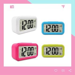 Đồng hồ báo thức điện tử thông minh để bàn mini DH89 tiện dụng