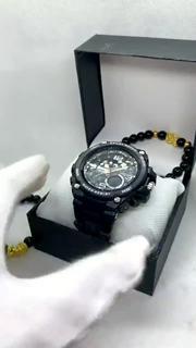 Đồng hồ thể thao nam SKMEI 1340 -DC2609 Kim điện tử, chống nước, chống va đập, đa chức năng, có đèn ban đêm nam tính