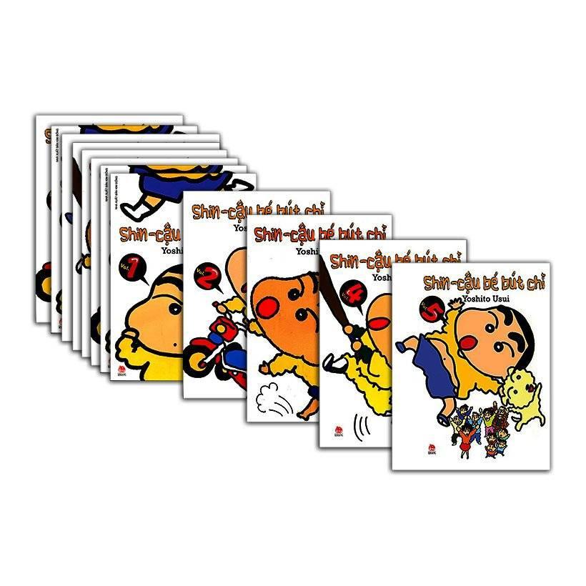 Bộ truyện tranh Shin - Cậu Bé Bút Chì - Truyện Ngắn (Trọn Bộ 50 Cuốn) - Tác giả Yoshito Usui - 3462906 , 1245339296 , 322_1245339296 , 800000 , Bo-truyen-tranh-Shin-Cau-Be-But-Chi-Truyen-Ngan-Tron-Bo-50-Cuon-Tac-gia-Yoshito-Usui-322_1245339296 , shopee.vn , Bộ truyện tranh Shin - Cậu Bé Bút Chì - Truyện Ngắn (Trọn Bộ 50 Cuốn) - Tác giả Yoshito