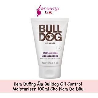 Kem Dưỡng Ẩm Bulldog Oil Control Moisturiser 100ml Cho Nam Da Dầu thumbnail