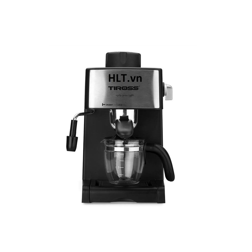 máy pha cà phê espresso 4 cốctiross ,800w ts621