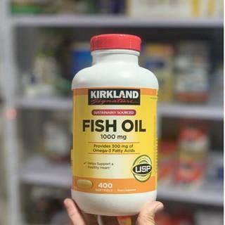 ✹❖Viên Uống Fish Oil Dầu Cá Kirkland 400 Viên