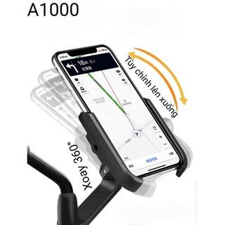 Giá đỡ điện thoại gắn xe máy chất liệu hợp kim A1000 (KẸP C2 MẪU MỚI)