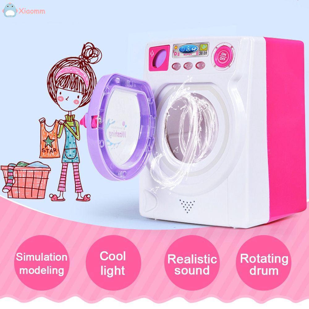 Kids Children Pretend Play Mini Simulation Toy Home ApplianceToy Washing Machine .mm