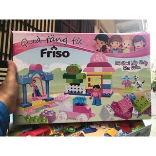 FREESHIP ĐƠN 99K_Bộ đồ chơi lắp ghép sân vườn